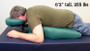 Oakworks Proning Cushion, Extended Prone Positioning, in use