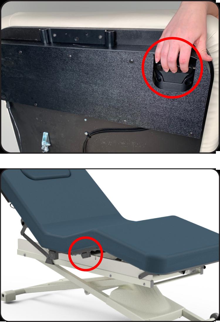 Proluxe LiftAssist Backrest and Leg Rest Lever