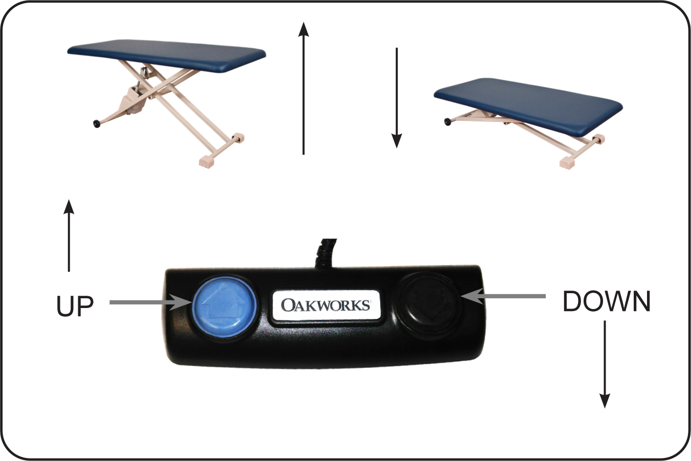PT Table Foot Control