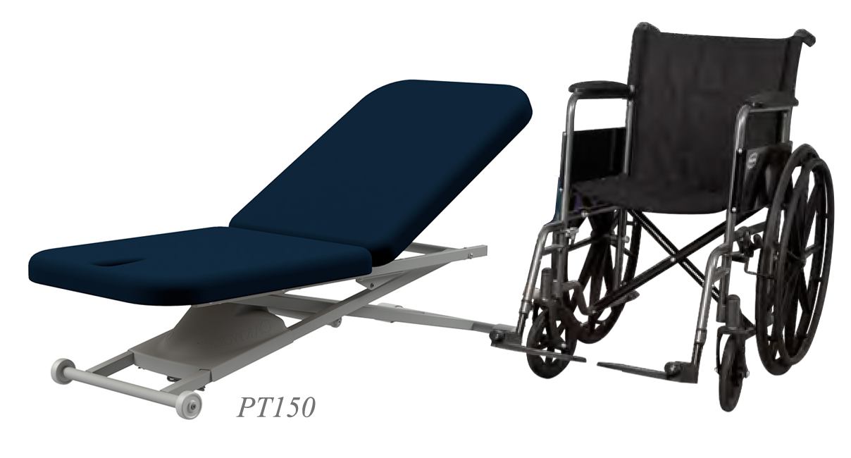 PT150 with Wheel Chair