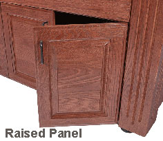 Custom Craftworks M100 Electric Table Raised Panel Door