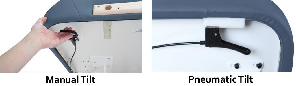 Sedona Manual-vs-Pneumatic Tilt