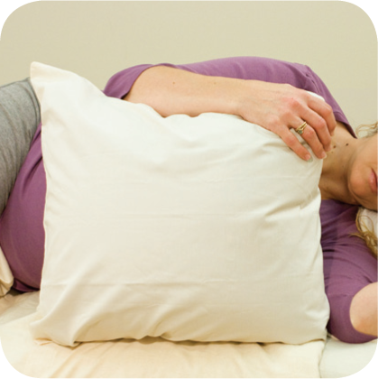 Side Lying Pillow Cover