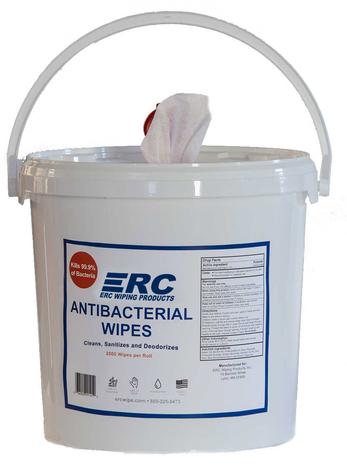 ERC Antibacterial Wipes Dispenser Bucket