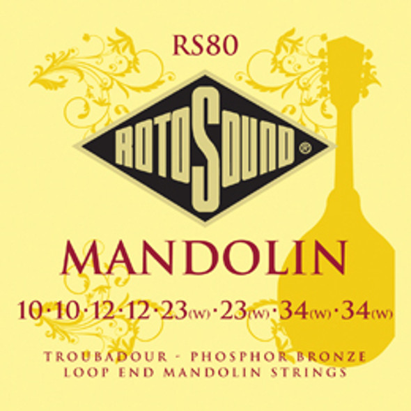 Rotosound RS 80 Troubadour Mandolin Strings Set