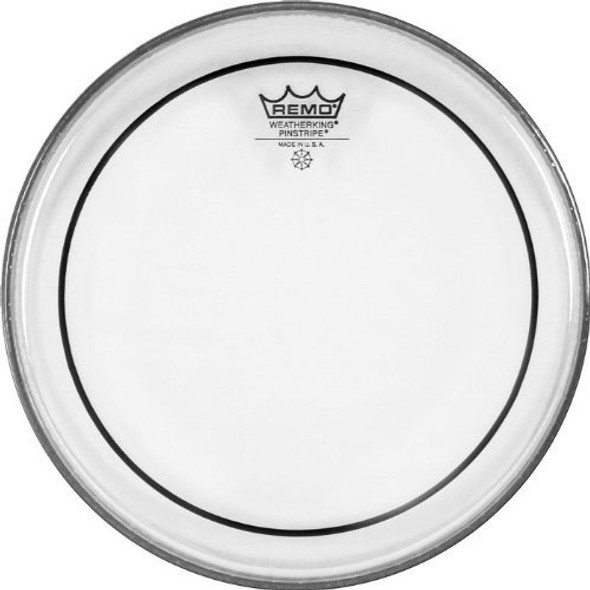 "Remo Pinstripe Clear Drum Head (8"")"