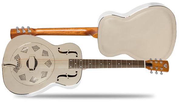 Epiphone  Dobro Hound Dog M-14 Metal Body Round Neck  Acoustic Guitar