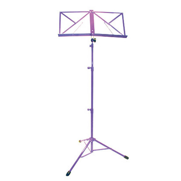 Deluxe Music Stand With Bag In Purple
