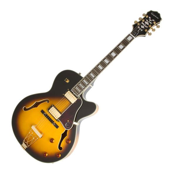 Epiphone Joe Pass Emperor II Pro Electric Guitar - Vintage Sunburst