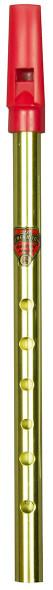 Flageolet Tin Whistle Brass Key G