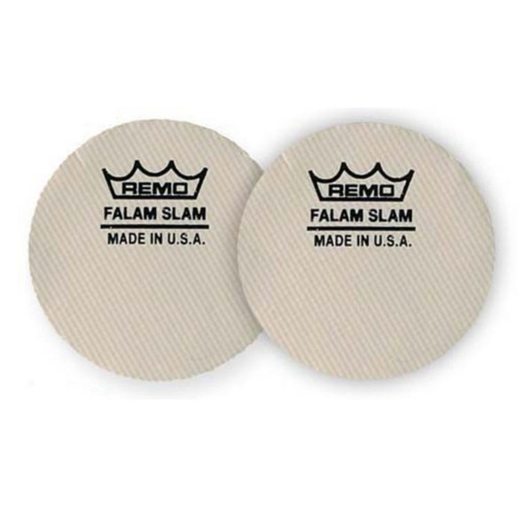 Remo 2.5 Inch Falam Slam Pads for Bass Drum Head