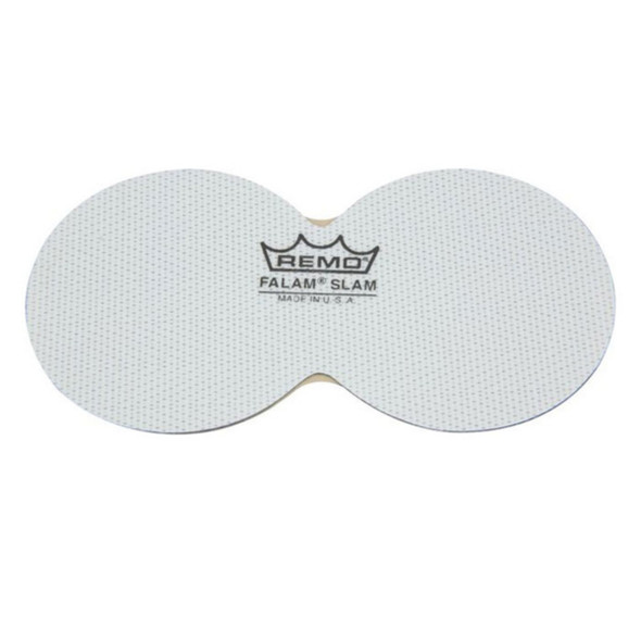 Remo 2.5 Inch Double Falam Slam Pad for Bass Drum Head
