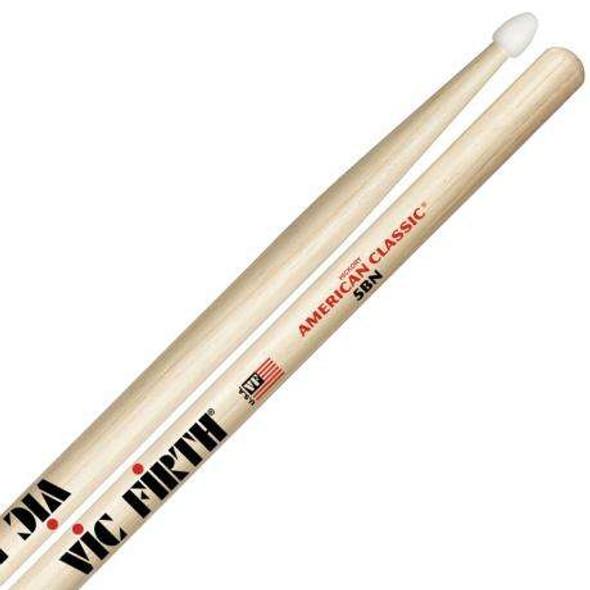 Vic Firth Hickory American series 5B Nylon tip drum sticks..
