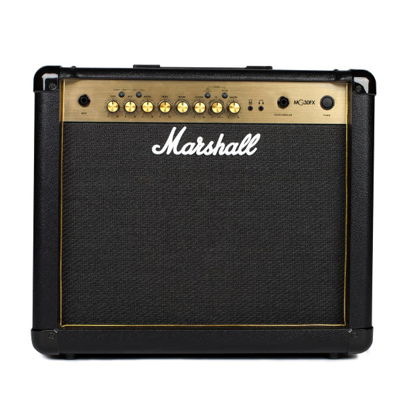 Marshall MG30GFX Guitar Combo Amplifier In Black And Gold