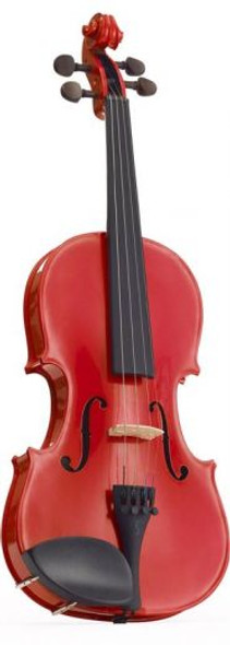 Stentor 3/4 Harlequin violin outfit Cherry Red