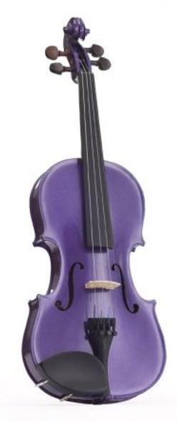 Stentor 3/4 Harlequin violin outfit Deep Purple