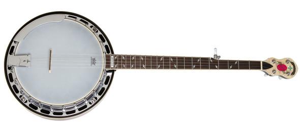 Epiphone Mayfair 5-String Banjo, Red Brown Mahogany Banjo