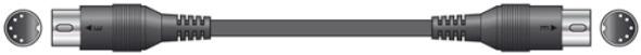 MIDI Lead 0.75 Metre