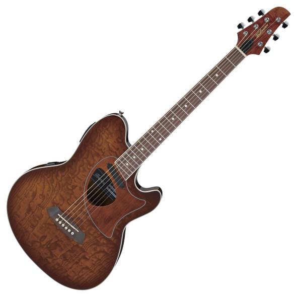 Ibanez TCM50-VBS Talman Electro Acoustic Guitar, Vintage Brown Sunburst