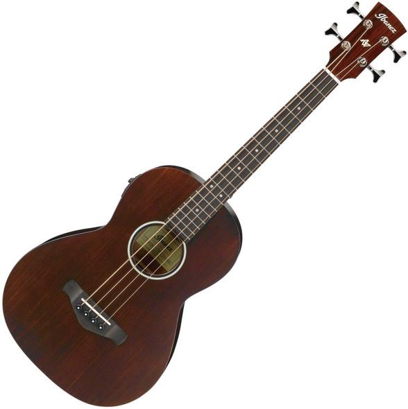 Ibanez AVNB1E-BV Electro-Acoustic Bass - Brown Violin