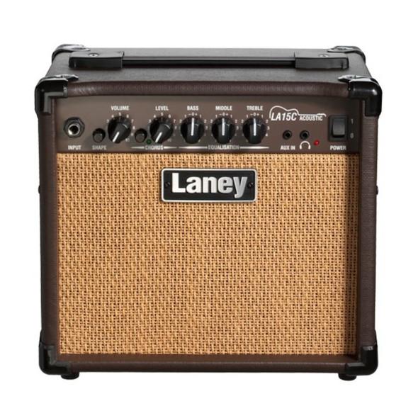 Laney LA15C LA Series Acoustic Guitar Practice Amplifier with Chorus