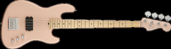 Flea Signature Active Jazz Bass®, Maple Fingerboard, Satin Shell Pink