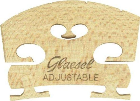Glaesel Violin Bridge 1/2 Full Size