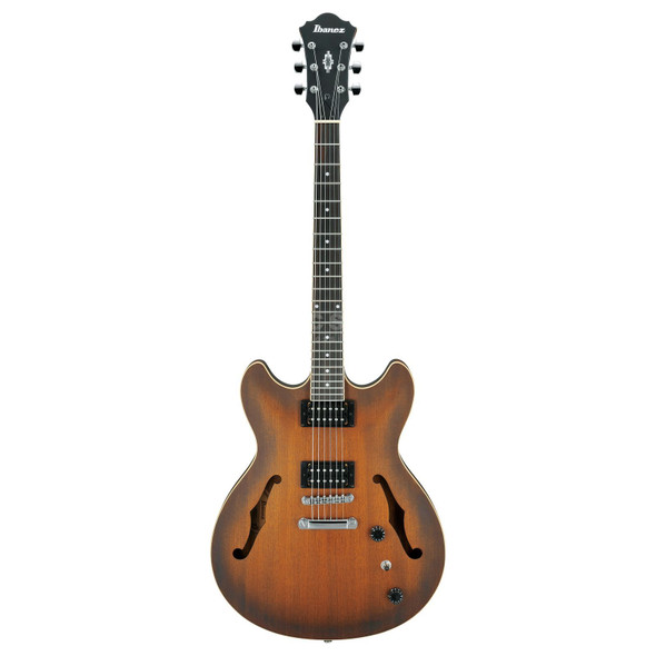 Ibanez AS53-TF Electric Guitar in Tobacco Flat