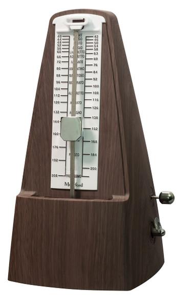 Montford Pyramid Metronome Satin Wood Finish
