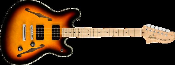 Fender Squier Affinity Series™ Starcaster®, Maple Fingerboard, 3-Color Sunburst