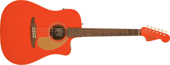 Fender Redondo Player, Walnut Fingerboard, Fiesta Red