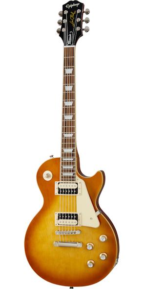 Epiphone Les Paul Classic Electric Guitar in Honey Burst