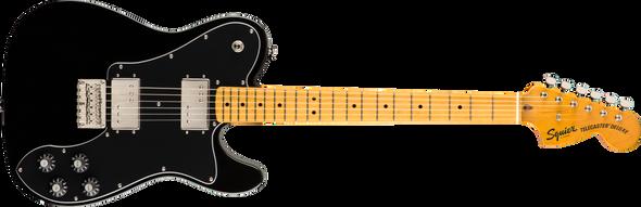 Fender  Classic Vibe '70s Telecaster® Deluxe, Maple Fingerboard, Black
