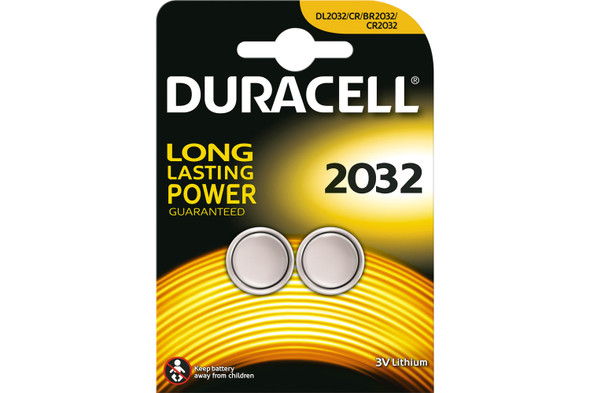 Duracell Guitar Tuner  Battery Pack Of 2