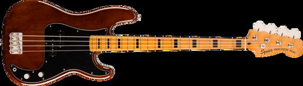 Fender Squier Classic Vibe '70s Precision Bass®, Maple Fingerboard, Walnut