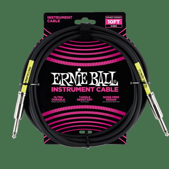 Ernie Ball 10' Guitar Lead Straight to Straight