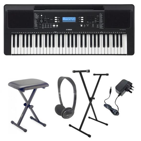 Yamaha PSR-E373 Portable Electronic keyboard 61 keys Pack 2