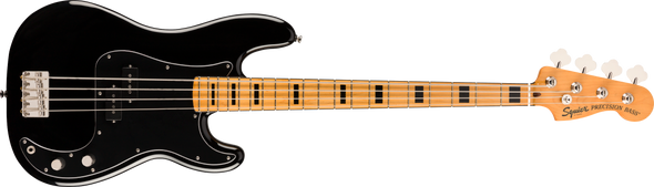 Fender Classic Vibe '70s Precision Bass®, Maple Fingerboard, Black