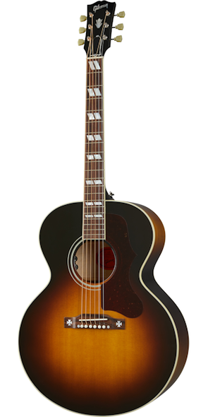 Gibson J-185 Original Vintage Sunburst Electro Acoustic guitar