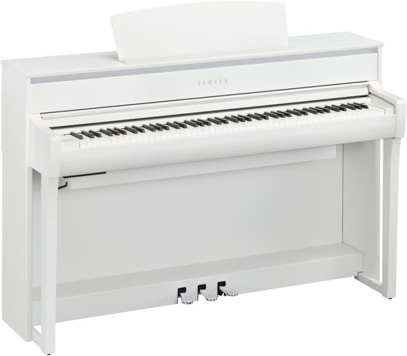 Yamaha CLP-775WH Clavinova Digital Piano With Bluetooth White