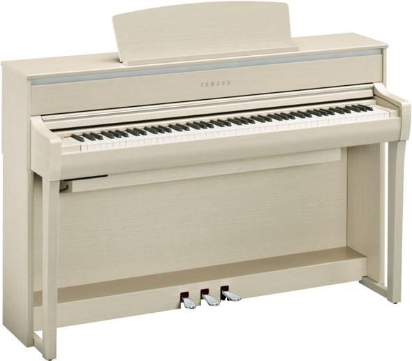 Yamaha CLP-775WA Clavinova Digital Piano With Bluetooth White Ash