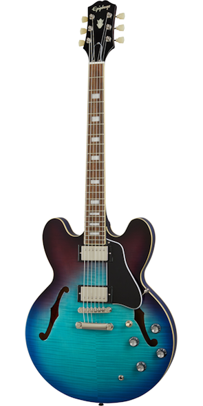 Epiphone ES-335 Figured Electric Guitar Blueberry Burst