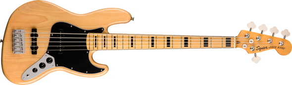 Fender Squier Classic Vibe '70s Jazz 5 String Bass® , Maple Fingerboard,