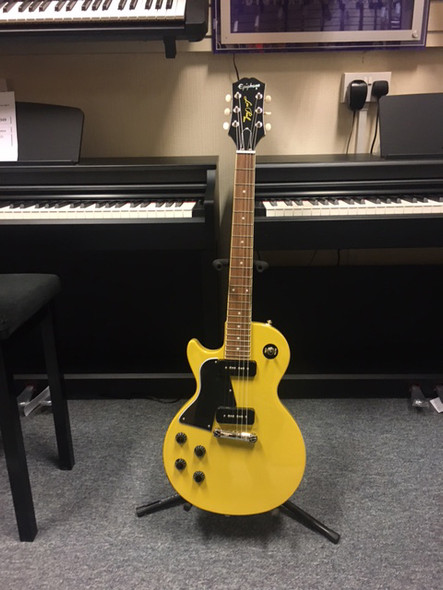 Epiphone Les Paul Special Left Handed Electric Guitar TV Yellow