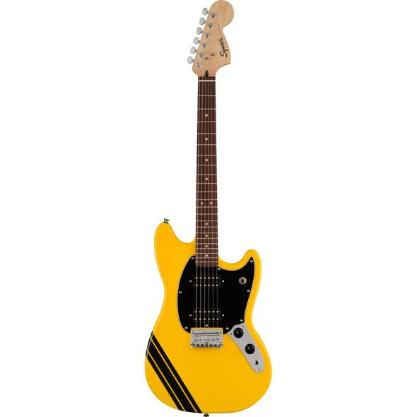 Fender Squier FSR Bullet® Competition Mustang Graffiti Yellow