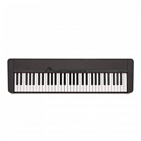 Casio CT-S1 Portable Electronic Keyboard Piano With Free Sustain Pedal, Black