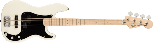 Fender Squier Affinity Series™ Precision Bass® Maple Fingerboard, Olympic White