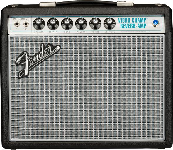 Fender 68 Custom Vibro Champ® Reverb Guitar Amplifier