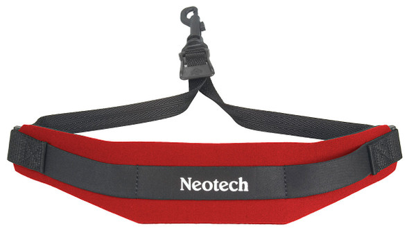 Neotech Soft Sax Strap Red With Swivel Hook