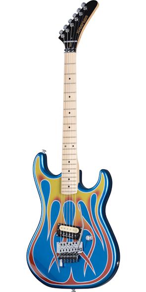 "kramer Baretta, Custom Graphics, ""Hot Rod"" Electric Guitar"